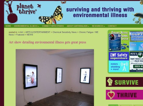 Planet Thrive reports on Krowswork show Dec 2011